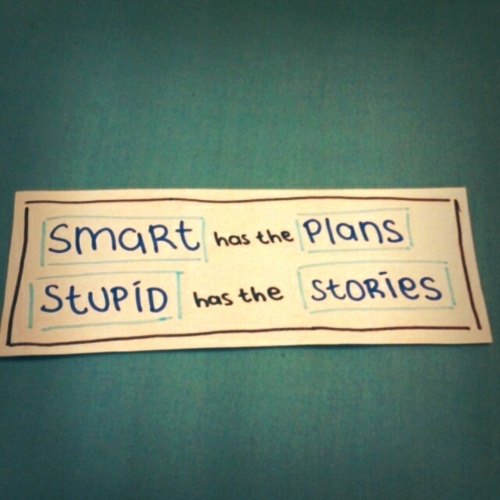 inspiration, life, plan, quote, smart, story, stupid, text, true, truth, typography, words