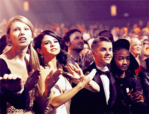 jaden smith, justin bieber, selena gomez, taylor swift