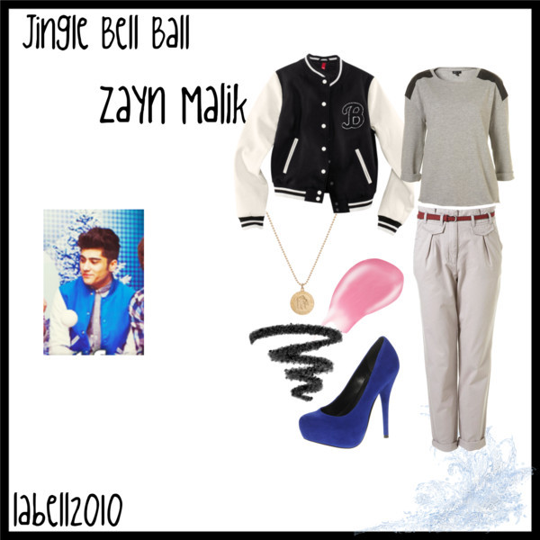 jingle bell ball, one direction, outfit, polyvore, zayn malik