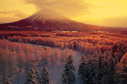 landscape, mountain, mountains, nature, snow