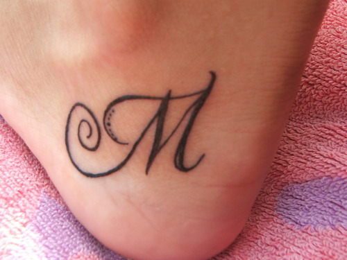 letter, tatoo, tattoo