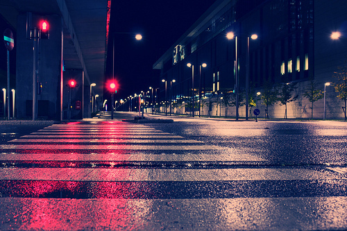lights, night, street, wonderful