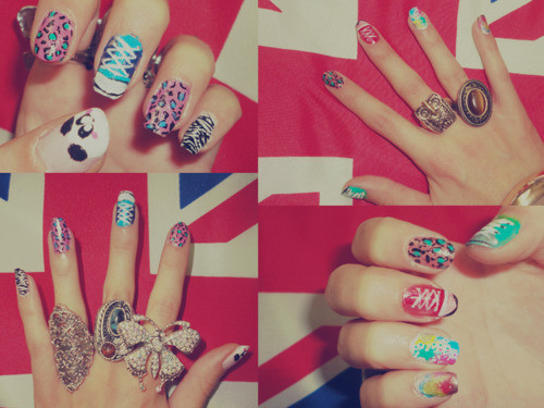 nails, panda, ring, rings, shoes