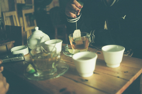 photography, tea, vintage