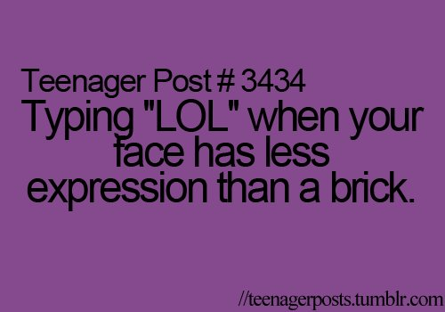 teenager post, teenager posts, text