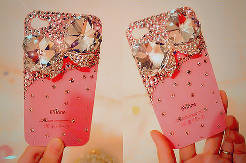 *-*, cute, fashion, gliter, iphone, pink