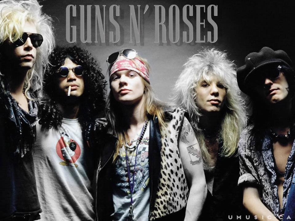 80s, fashion, guns n roses, hair, rock band