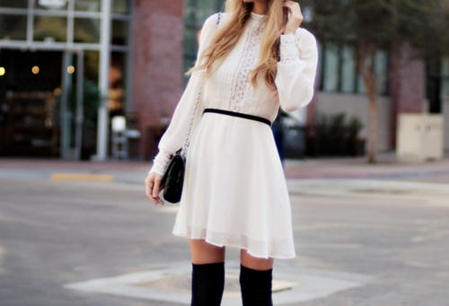 accessorize, bag, belt, black, blond, blonde, clothes, cute, dress, fashion, girl, girls, girly, hair, lace, leggings, long, pattern, photography, pretty, pursue, shirt, short, skirt, sleeves, socks, thights, white, woman