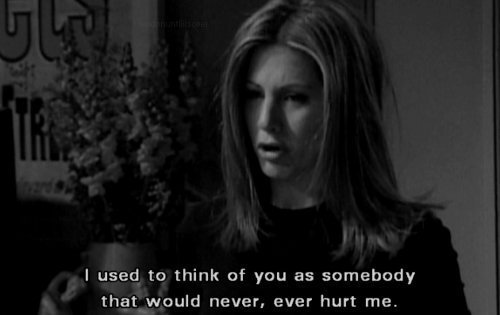 actor, hurt, jennifer aniston, leave, never