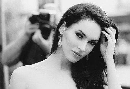 actrice, b & w, b&w, beautiful, black and white, brunette, chic, cute, female, girl, hot, love, megan, megan fox, nice, photo, photograph, photography, picture, sexy, woman