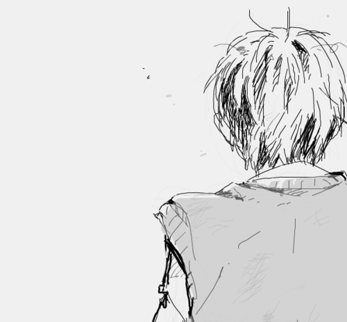 adorable, amazing, anime, art, b&w, back, beautiful, black & white, black and white, boy, cute, draw, fashion, guy, hair, illustration, image, kawaii, male, perfect, style