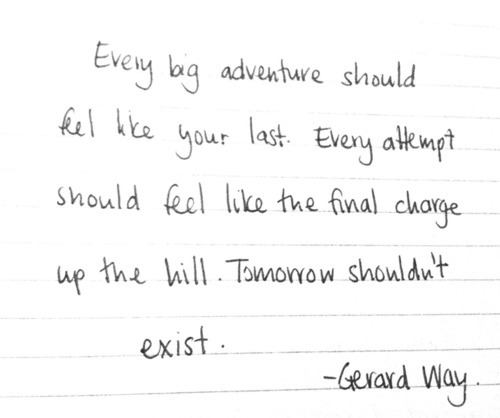 adventure, attempt, exist, feel, gerard