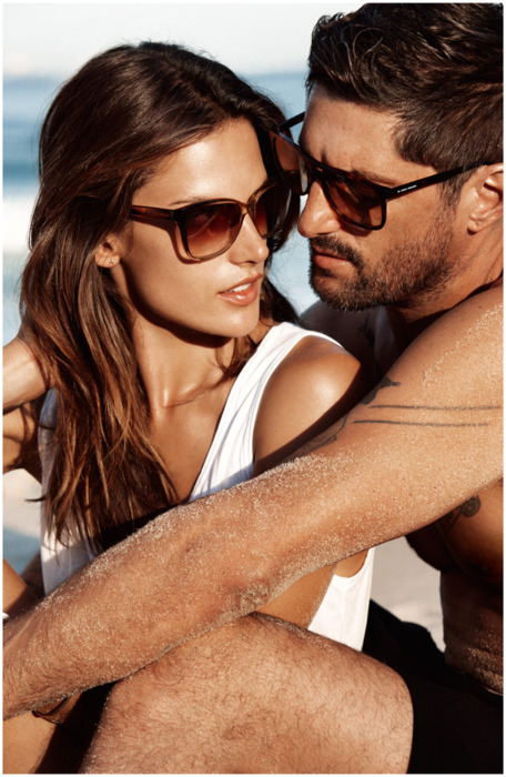 alessandra ambrosio, boy, girl, hugo boss, man, model, sunglasses