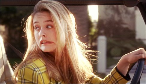 alicia silverstone, girl, hair, happiness
