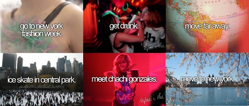 amazing, awesome, before i die, chachi, chachi gonzales, cute, fashion, fashion week, ice skate, meet, move far away, my dream, new york, pretty, swag, true, truth, First Set on Favim.com