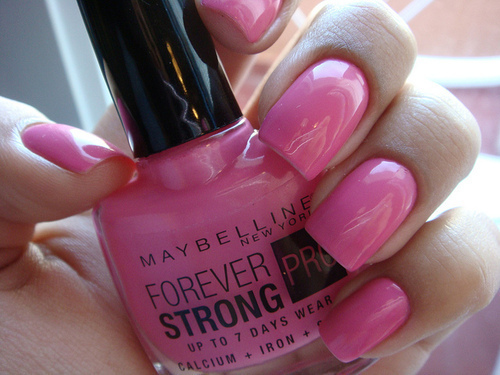 american, beautiful, cute, fashion, girl, love, maybelline, nail polish, nails, new york, nice, photography, pink, pretty, pro, sweet, usa, want