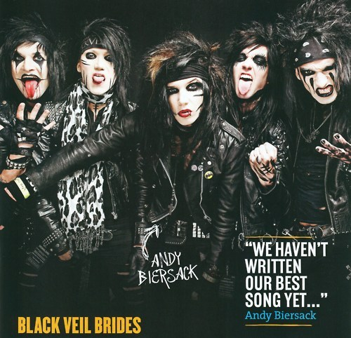 andy biersack, andy sixx, band, black veil brides, bvb