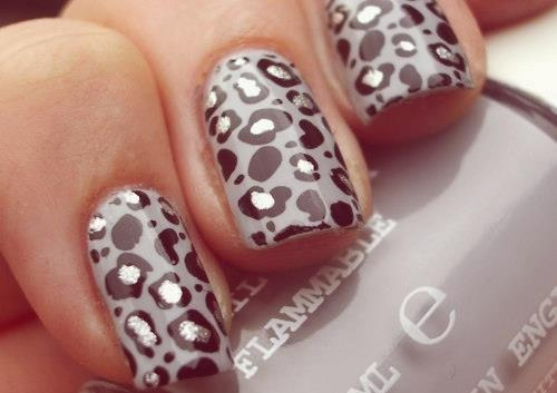 animal print, awesome, black, black and white, cool, cute, girly, grey, lacquer, nail art, nail lacquer, nailpolish, nails, photography, polish, pretty, style, stylish, sweet, white