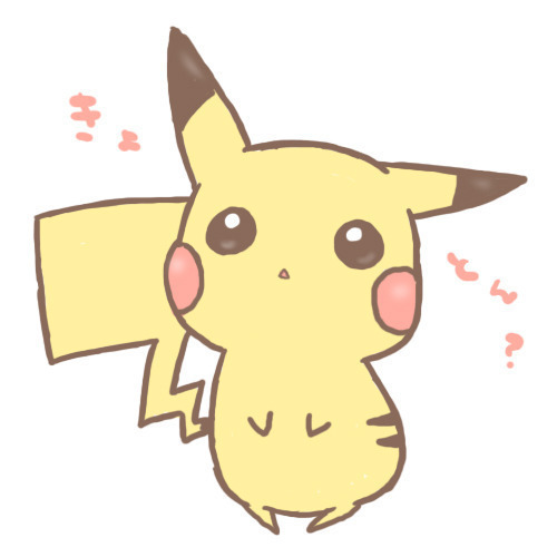 anime, cute, kawaii, pikachu, pretty