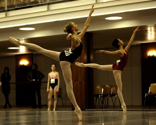 arabesque, ballerinas, ballet, ballet class, dance, dancers, dancing, girls, leotards, point shoes