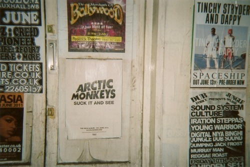 arctic monkeys, poster, room, vintage