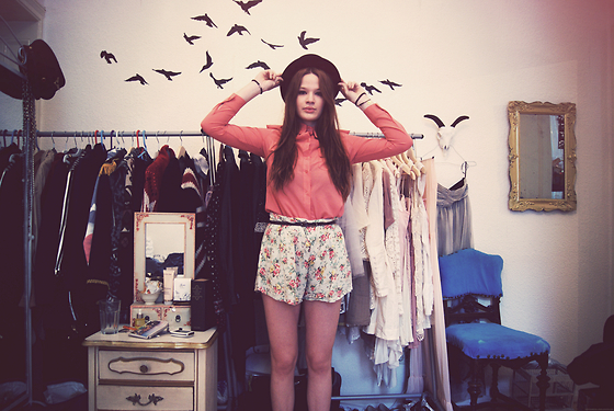 art, awesome room, birds, fashion, fashion photo