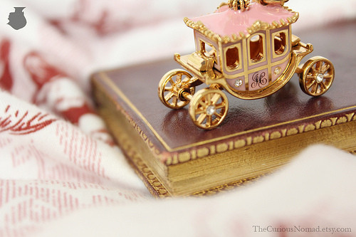 art, beautiful, book, carriage, cart, colors, colours, cute, decoration, design, fairy, fairytale, gold, golden, photography, pink, shiny, small