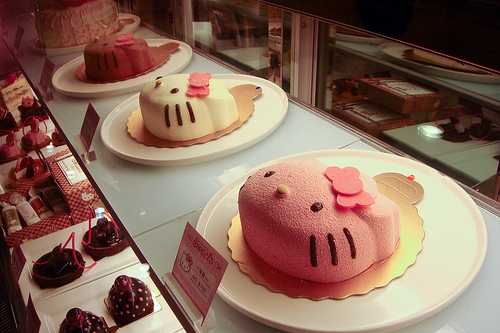 art, beautiful, cake, chocolate, cold, colorful, colors, colours, cream, cupcake, cupcakes, cute, decoration, delicious, food, happy, hello kitty, ice, ice cream, kawaii, kitty, lovely, pink, strawberry, sweet, vanilla, yummy