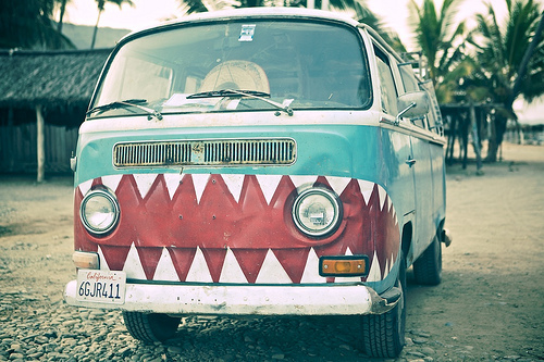 art, beautiful, car, carro, combi