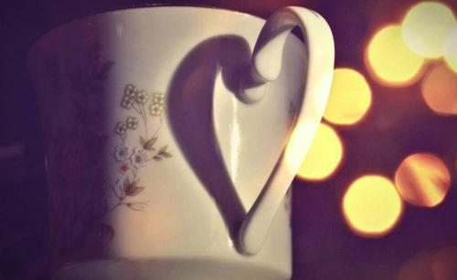 art, beautiful, cool, cup, heart, lights, love, photo, photograph, photography