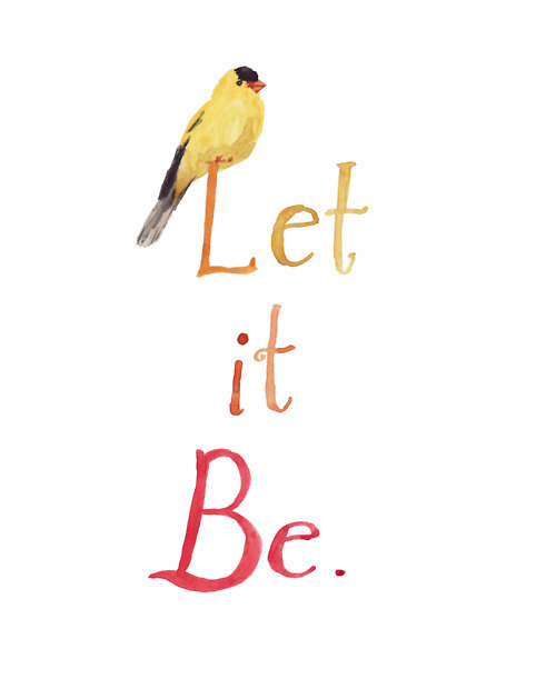 art, bird, boho, hipster, indie, let it be, the beatles