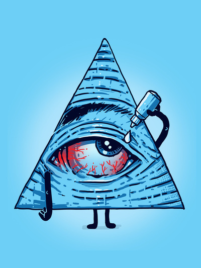Illuminati Triangle Eye Drawing Dope Drawings Tumblr