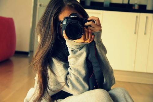art, camera, cute, eva, girl
