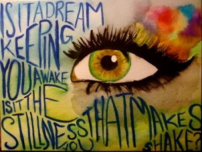 art, colors, dream, eyes, imagine, paint, quotes