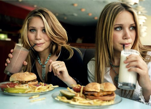 ashley, ashley olsen, beautiful, beauty, blonde, cute, delicious, drink, fashion, food, girl, girls, girly, kate, light, mary, mary kate olsen, milk shake, nature, olsen, olsens, photography, pretty, sweet