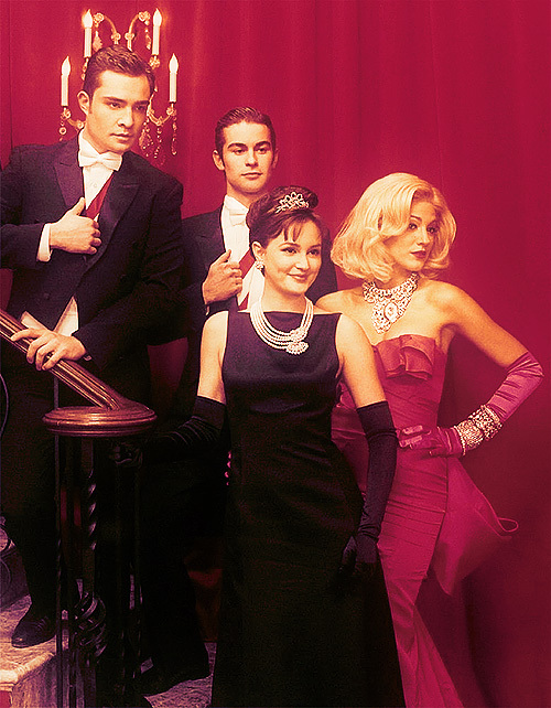 audrey hepburn, blair waldorf, blake lively, breakfast at tiffany, chace crawford