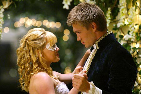 austin ames, awesome, beautiful, blonde, chad, chad michael murray, cinderella story, cindrella, cool, curly hair, cute, dress, hillary duff, love, mask, nice, princess, sam montgomery