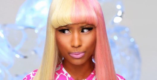 awesome, beautiful, blonde, blondie, cool, girl, pink hair, singer, nicki minaj, pink, photo, nicki, pretty, make up, lipstick, super bass, hair, nice