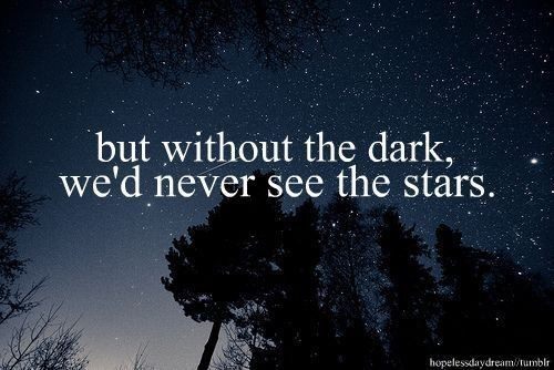 awesome, beautiful, cool, dark, darkness, forest, night, people, quote, see, sky, stars, together, trees, universe