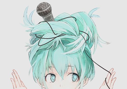 awesome, cute, girl, japanese, kawaii, lovely, manga, micro, miku, rock, shoujo, sing, singer, song, turquoise, vocaloid