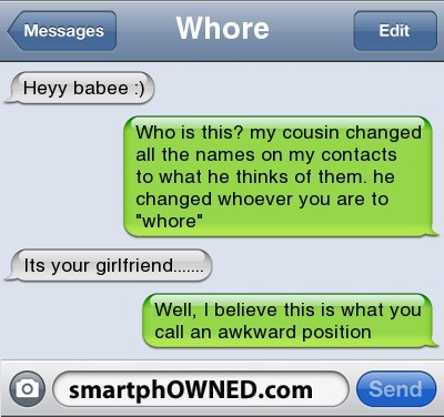 awkward, funny, girlfriend, haha, whore