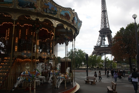 background, beautiful, bright, child, childish, children, circus, dull, eiffel, eiffel tower, entertain, foreground, france, fun, funfair, funny, happiness, horses, light, memories, merry-go-round, merrygoround, nostalgia, nostalgic, paris, rides, theme