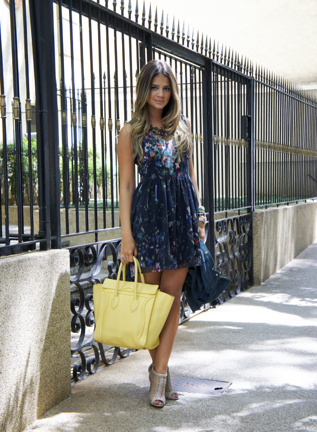 bag, beautiful, blog, dress, fashion