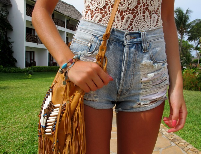 bag, body, boho, denim, girl