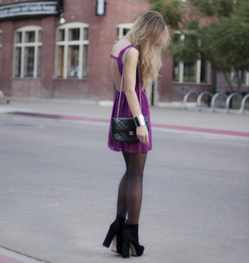 bag, chanel, dress, fashion, girl, hair, high heels, legs, model, outfit, photography, shoes, skinny, style, thin, thinspo, tights