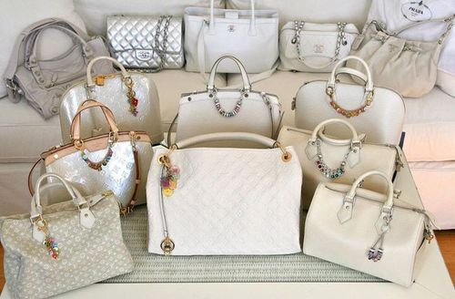 bags, chanel, cream, dream, fashion