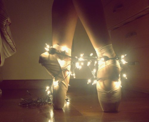 ballerina, ballet, cute, girl, lights