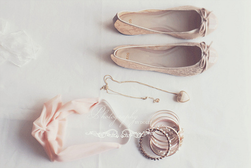 ballerina, bed, cute, delicate, floral, girl, girly, laco, pastel, pink, shoes
