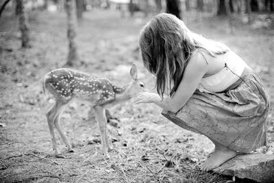 bambi, black and white, cute, dress, girl