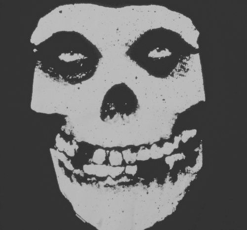 b&w, band, black and white, horror punk, logo, logo band, misfits, punk, punk band, punk rock, skull